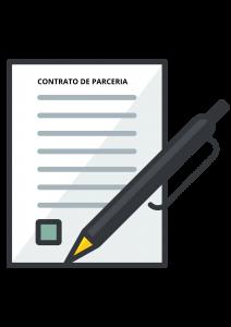 CONTRATO DE PARCERIA DE ACORDO COM A LEI SALÃO PARCEIRO