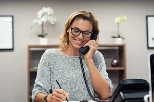 telefonar para clientes