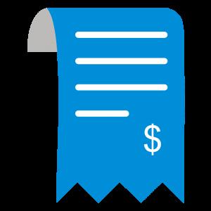 Ilustração de nota fiscal